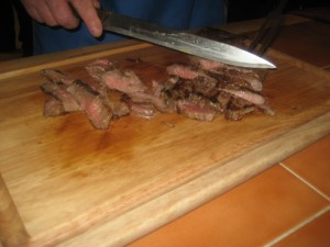 Slicing Steak 3