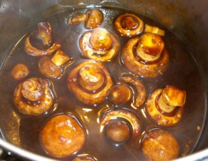 Simmer Mushrooms