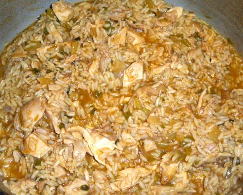Hungarian Chicken and Rice