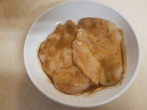 Marinate Chicken in Fresh Herb Dressing